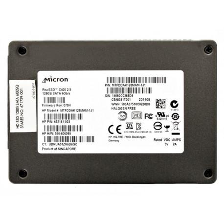 HP SSD 128GB SATA600 SQ 671729-001