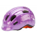 ABUS Girl Smiley 2.0 fietshelm Purple Star 45-50 cm AH72568