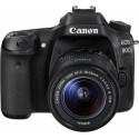 CANON Camera EOS 80D + 18-135MM F/3.5-5.6 Black 1263C012