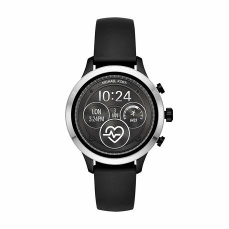 Michael Kors Watch Runway Zilver (Zwart) MKT5049