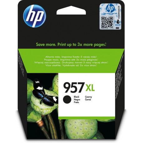 HP Inkt 957XL Extra hy Origineel Zwart L0R40AE#BGY