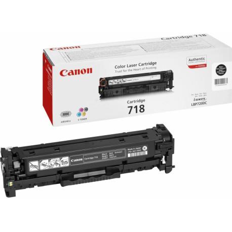 CANON Toner 718 CLBP Cartridge BK 1 Compatible model i-SENSYS MF729CX 2662B002