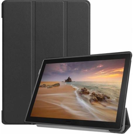 Just in case Smart Tri-Fold Lenovo Tab E10 Book Case Black 39481