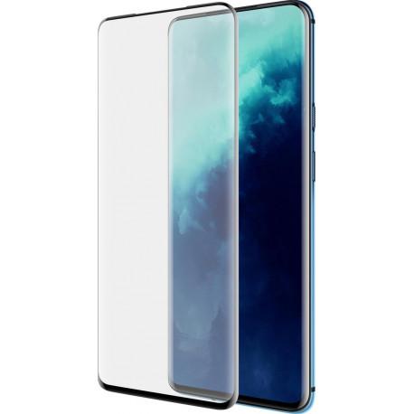 AZURI Rinox OnePlus 7T Pro Screenprotector Gehard Glas Zwart AZ-SPTGCURVOP7TP-BLK