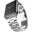 Just in case Apple Watch 38/40MM Stainless Steel Band Silver JIC-MAB-AW-38MM-SLVR