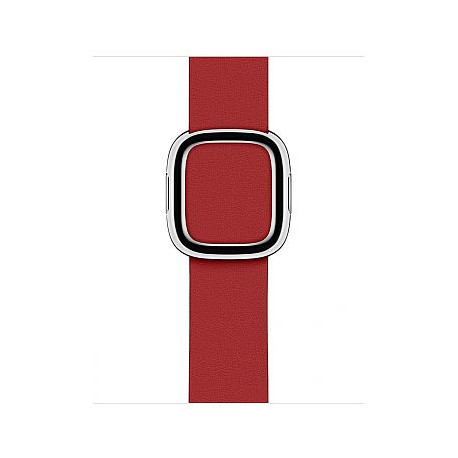 APPLE 40mm Modern Leather Watch Strap red Small (iwatch) MTQT2ZM/A
