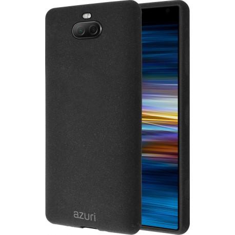 AZURI Flexible Sand Sony Xperia 10 Back Cover Black AZ-COVFLEXSX10-BLK