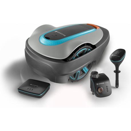 Gardena Robotmaaier + Dockingstation Smart System Startset Sileno City 500 19200-26
