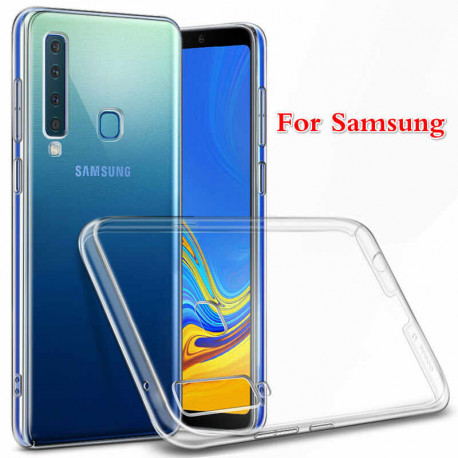 AZURI tpu Samsung A6 Plus Back Cover Transparant AZTPUSAA605-TRA
