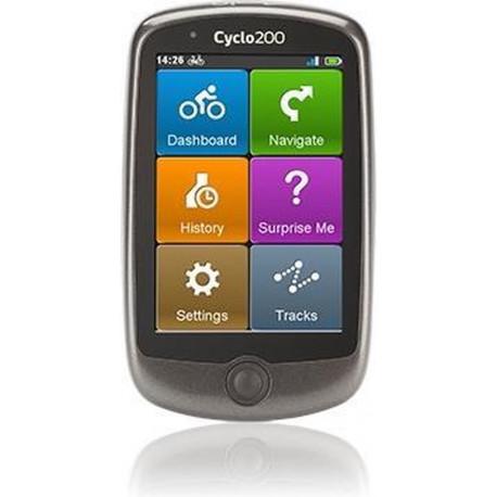 MIO Cyclo 205 navigation (Western Europe) 5413N5060003
