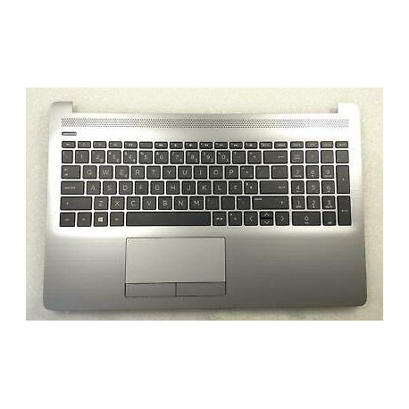 HP Silver Palmrest for HP Laptop HP 250 6BP10EA QWERTY US + ru 74228578