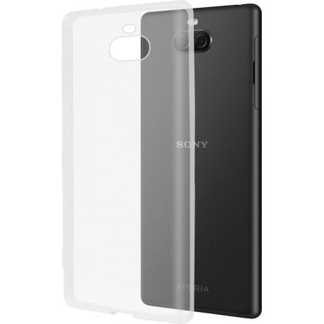 AZURI Glossy tpu Sony Xperia 10 Plus Back Cover Transparant AZ-TPUSX10P-TRA