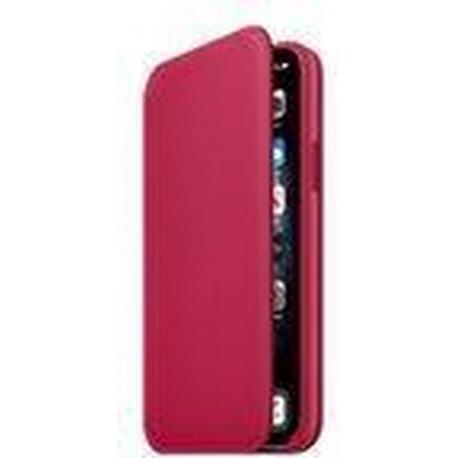 APPLE iPhone 11 Pro Leather Folio Framboos MY1K2ZM/A