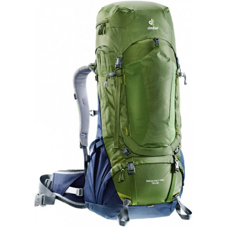 Deuter Backpack Aircontact Pro 70L + 15L Pine/Navy 3330317-2312-0