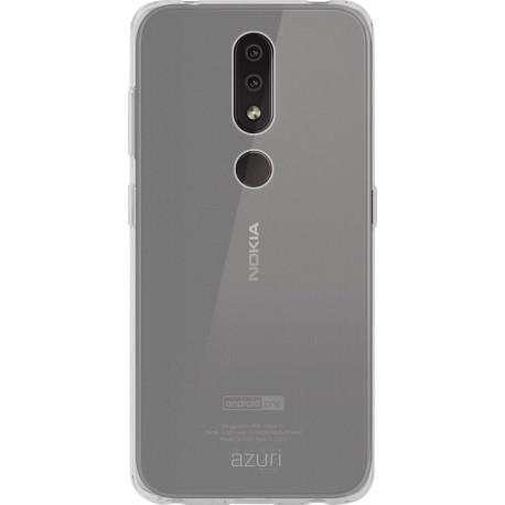AZURI tpu Nokia 4.2 Back Cover Transparent AZTPUNOK4.2-TRA