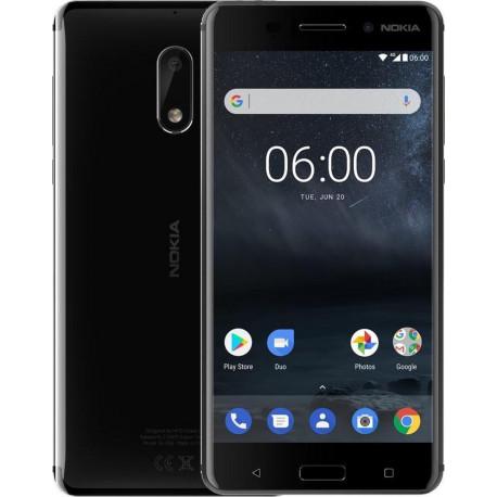 "NOKIA Smartphone Nokia 6 Android 7.1 3 GB 32 GB Schwarz 5,5"" 11PLEB01A03"