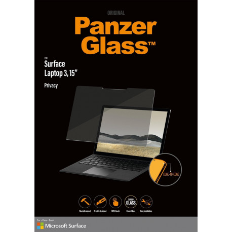 "PanzerGlass Privacy Microsoft Surface Laptop 3 15"" Screenpro P6256"