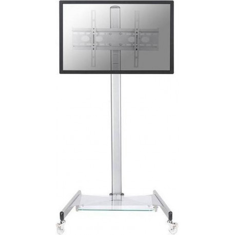 "NEW STAR Floor Stand/Trolley 32-70"" silver PLASMA-M1600"