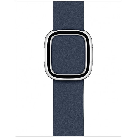 APPLE Watch 38/40 mm Modern Leather Watch Strap Deep Sea Blue MXPD2ZM/A
