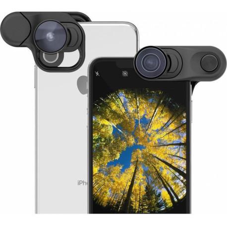 OLLOCLIP Fisheye + Super Wide + Macro lens set for iPhone XS max OC-0000315-EU