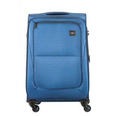 PRINCESS Traveler Colombo Uitbreidbare Spinner 65cm Blauw 30022091610404
