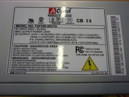 AOPEN 250W ATX PSU Power Supply Unit 5604250A41