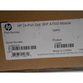 HP switch 7500 24-port GbE SFP Module JD203-61201