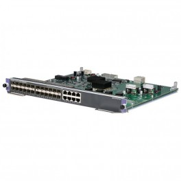 HP 7500 24P GbE SFP 2P 10 GbE XFP Mod JD205A