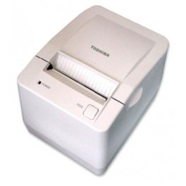 TOSHIBA TRST-A00 Single Sided Barcode Receipt Printer White TRST-A00-UF-QM-R