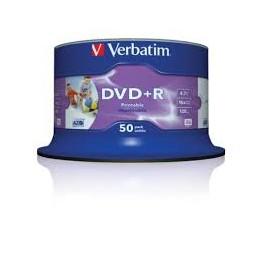 VERBATIM DVD+R/4.7GB 16XSP AdvancedAZO 50SPINDLE 43651