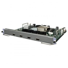 HP SP 10500 4-port 40GBE QSFP+ SF Module JC757-61001