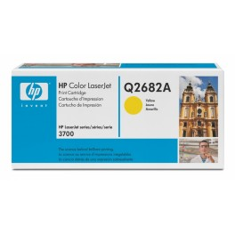 HP Toner Q2682A Yellow Q2682-67901