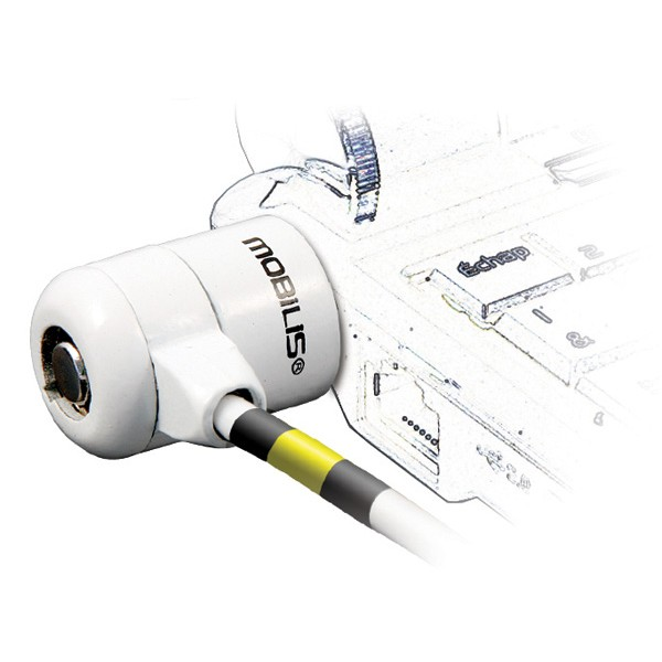MOBILIS Corporate Key Cable White 001111