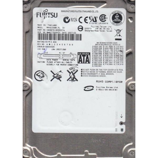 FUJITSU 100GB SATA 413853-001