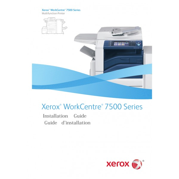 XEROX Nationalisation kit EU F WC7525 30 45 56 7525KEU