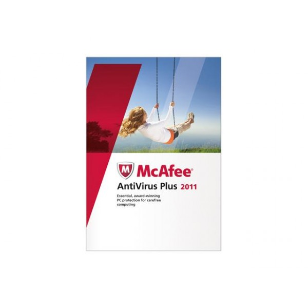 NUANCE Software McAfee AntiVirus Plus 2011/FRENCH 3U MAV11FMB3RAA