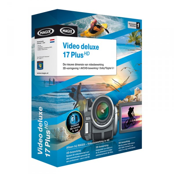 MAGIX video deluxe 17 plus HD FR 4017218703735