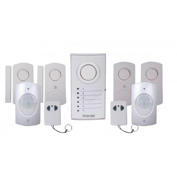 KÖNIG Wireless Alarm System SEC-ALARM110