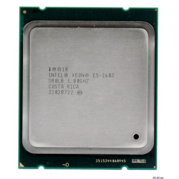 intel Xeon Processor E5-2603(10M Cache 1.80 GHz 6.40 GT/S 670533-001