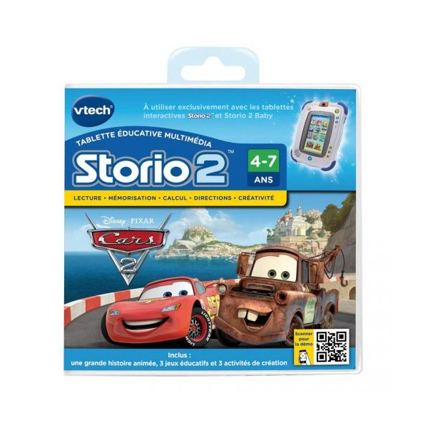 VTECH storio 2 cars 2 french 80-230105