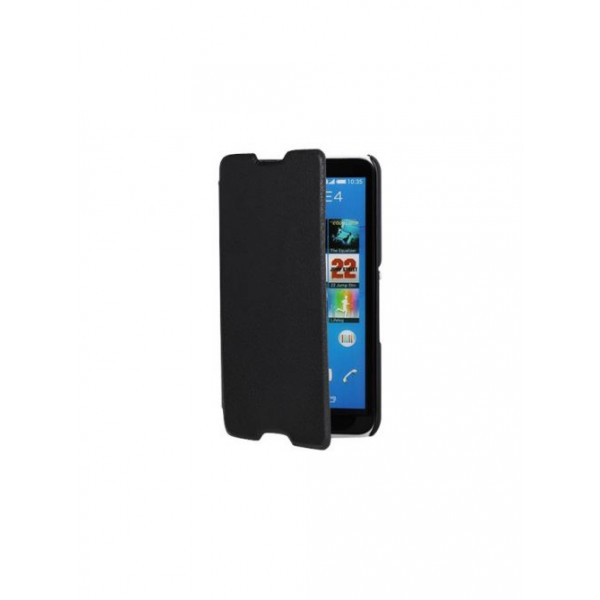 SWISS CHARGER Black Folio Case for sony xperia E4 SCP41279