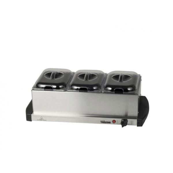 TRISTAR Buffet heater AND Hot plate BP-2979
