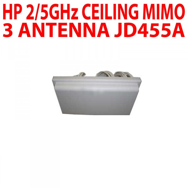 HP 2/5 GHZ Plafond mimo 3 antenne JD455-61101