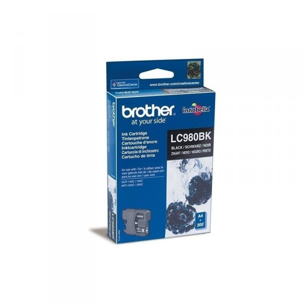 BROTHER Ink LC980 black blister LC980BKBP