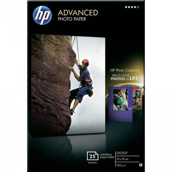 HP Paper Photo/Adv Glossy 10x15 BDL 25SH Q8691A