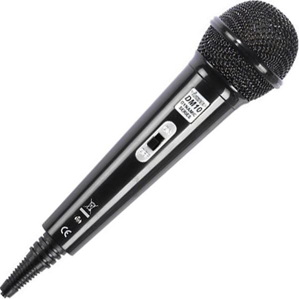 vivanco karaoke dynamic microphone dm10