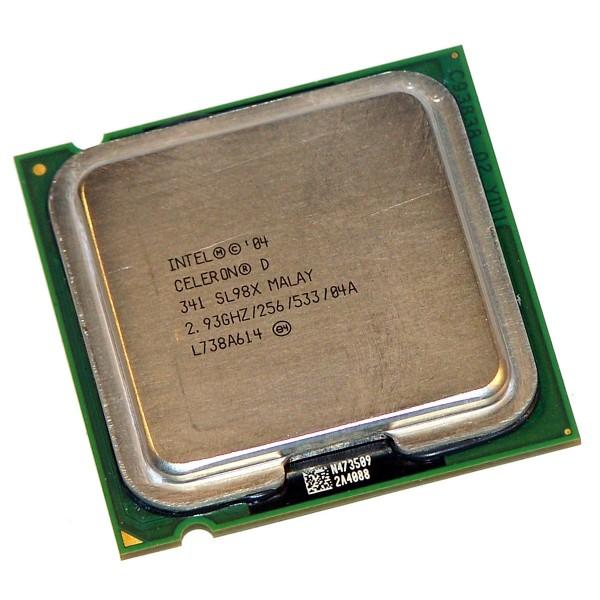 intel Processor Celeron D 341 SL98X