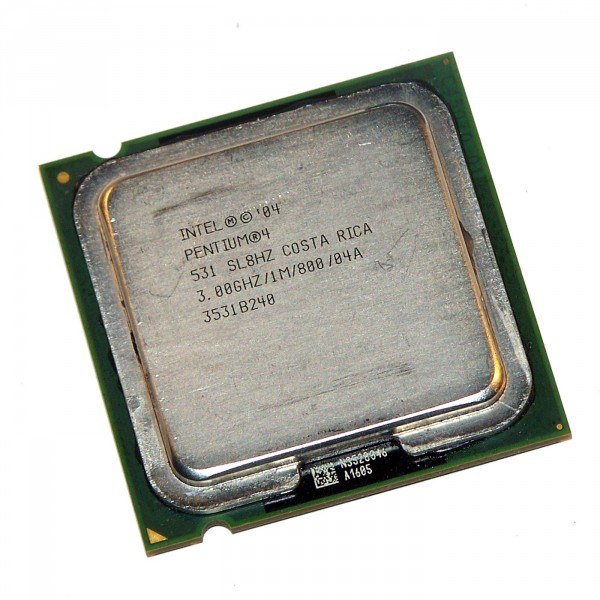 intel Processor Pentium 4 531 SL8HZ