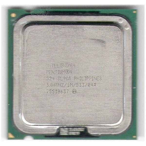 intel Processor Pentium 4 524 SL9CA