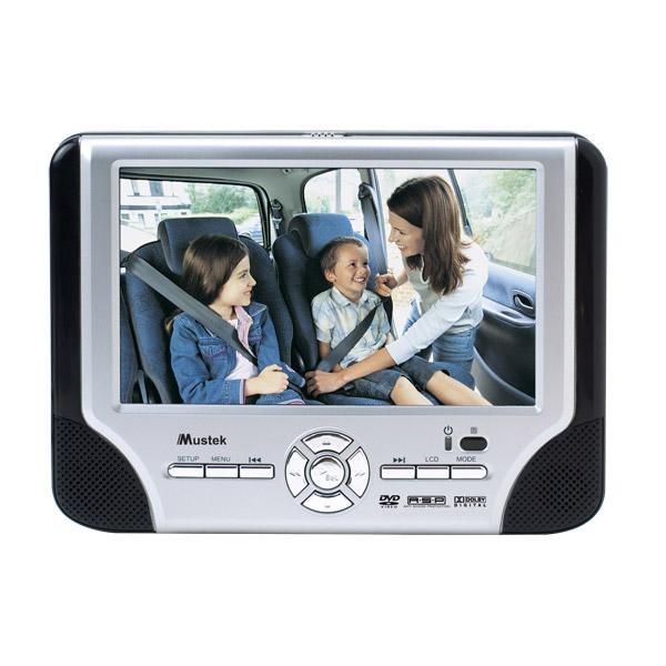 Mustek Portable dvd-player T70E
